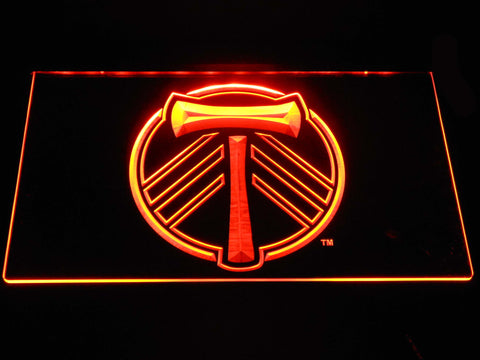 Portland Timbers LED Neon Sign - Orange - SafeSpecial