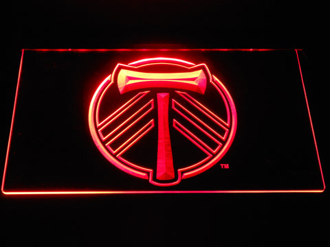 Portland Timbers LED Neon Sign - Red - SafeSpecial