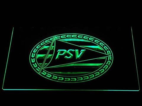 Image of PSV Eindhoven LED Neon Sign - Green - SafeSpecial