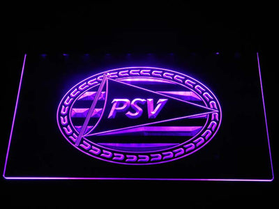 PSV Eindhoven LED Neon Sign - Purple - SafeSpecial