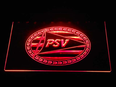 Image of PSV Eindhoven LED Neon Sign - Red - SafeSpecial