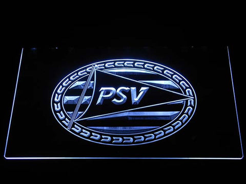 Image of PSV Eindhoven LED Neon Sign - White - SafeSpecial