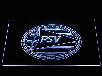 PSV Eindhoven LED Neon Sign - White - SafeSpecial