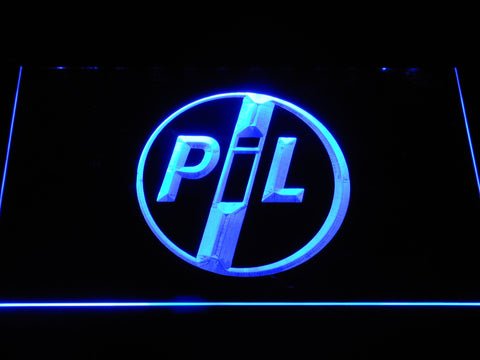 Image of Public Image Ltd LED Neon Sign - Blue - SafeSpecial
