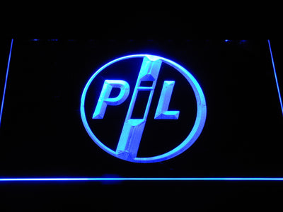 Public Image Ltd LED Neon Sign - Blue - SafeSpecial