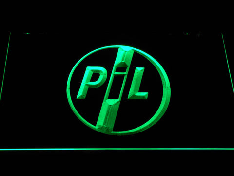 Image of Public Image Ltd LED Neon Sign - Green - SafeSpecial