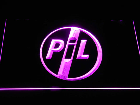 Image of Public Image Ltd LED Neon Sign - Purple - SafeSpecial