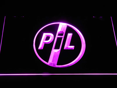 Public Image Ltd LED Neon Sign - Purple - SafeSpecial