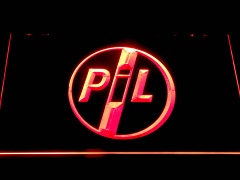 Image of Public Image Ltd LED Neon Sign - Red - SafeSpecial