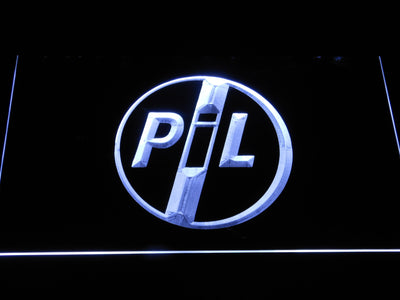 Public Image Ltd LED Neon Sign - White - SafeSpecial