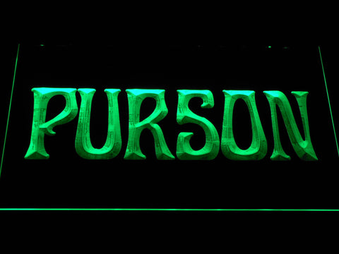 Image of Purson LED Neon Sign - Green - SafeSpecial