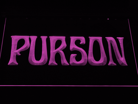 Purson LED Neon Sign - Purple - SafeSpecial