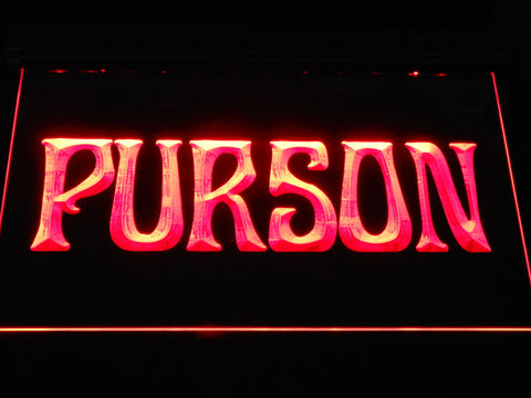 Image of Purson LED Neon Sign - Red - SafeSpecial