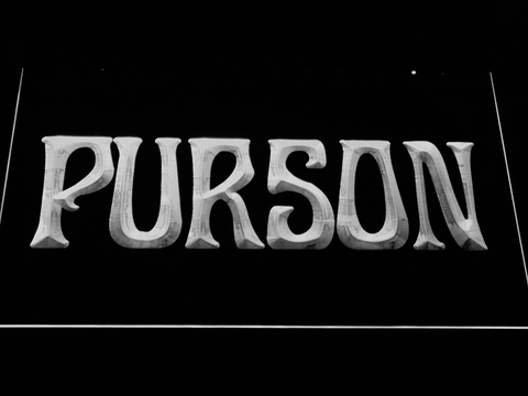 Image of Purson LED Neon Sign - White - SafeSpecial