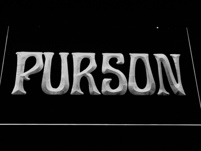 Purson LED Neon Sign - White - SafeSpecial