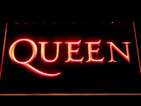Queen Wordmark LED Neon Sign - Red - SafeSpecial