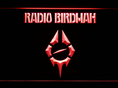 Radio Birdman LED Neon Sign - Red - SafeSpecial