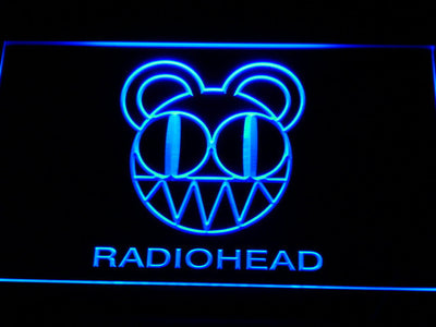 Radiohead LED Neon Sign - Blue - SafeSpecial
