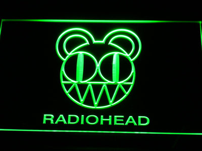 Radiohead LED Neon Sign - Green - SafeSpecial