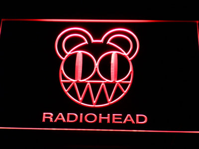 Radiohead LED Neon Sign - Red - SafeSpecial