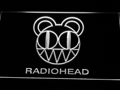 Radiohead LED Neon Sign - White - SafeSpecial