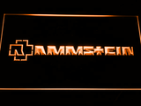 Rammstein LED Neon Sign - Orange - SafeSpecial