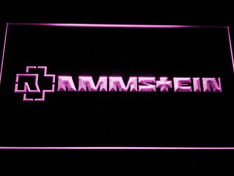 Image of Rammstein LED Neon Sign - Purple - SafeSpecial