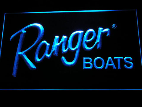 Image of Ranger Boats LED Neon Sign - Blue - SafeSpecial