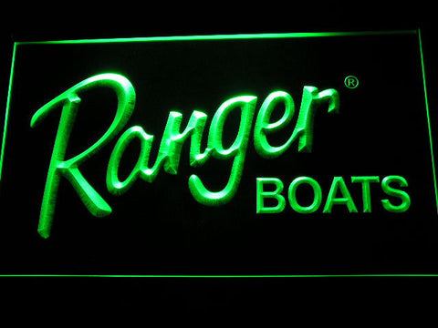 Ranger Boats LED Neon Sign - Green - SafeSpecial