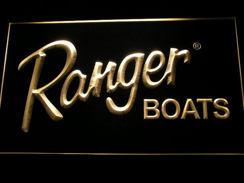 Ranger Boats LED Neon Sign - Yellow - SafeSpecial