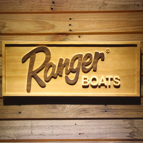 Ranger Boats Wooden Sign - Small - SafeSpecial