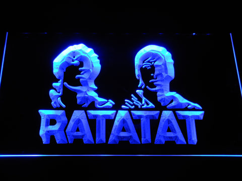 Ratatat LED Neon Sign - Blue - SafeSpecial