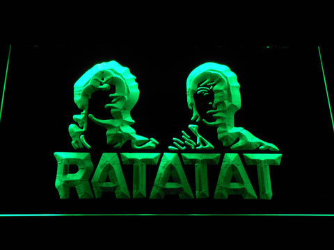 Ratatat LED Neon Sign - Green - SafeSpecial