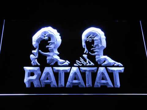 Image of Ratatat LED Neon Sign - White - SafeSpecial