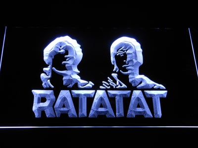 Ratatat LED Neon Sign - White - SafeSpecial