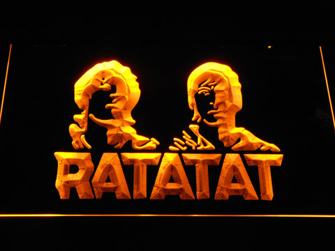 Ratatat LED Neon Sign - Yellow - SafeSpecial