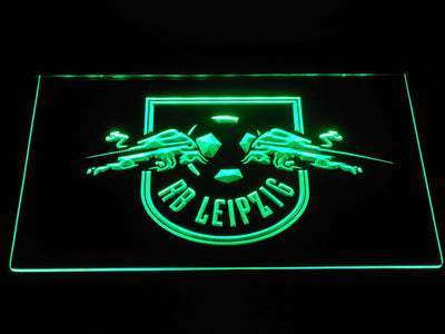 RB Leipzig LED Neon Sign - Green - SafeSpecial
