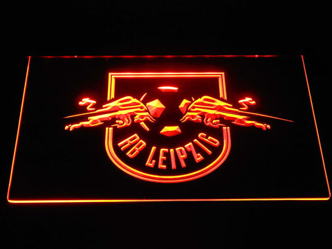 RB Leipzig LED Neon Sign - Orange - SafeSpecial