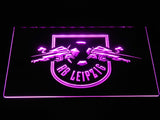 RB Leipzig LED Neon Sign - Purple - SafeSpecial