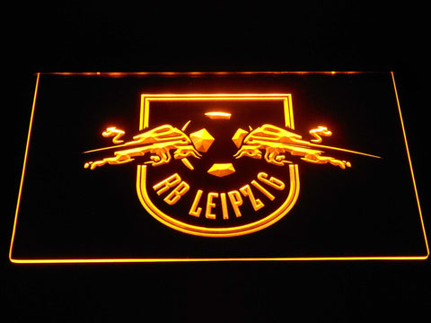 RB Leipzig LED Neon Sign - Yellow - SafeSpecial