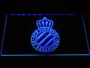 RCD Espanyol LED Neon Sign - Blue - SafeSpecial