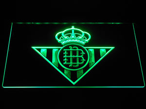 Real Betis LED Neon Sign - Green - SafeSpecial