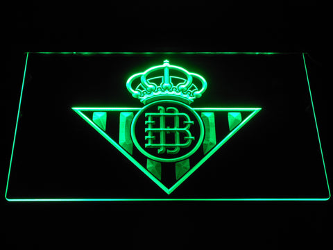 Image of Real Betis LED Neon Sign - Green - SafeSpecial
