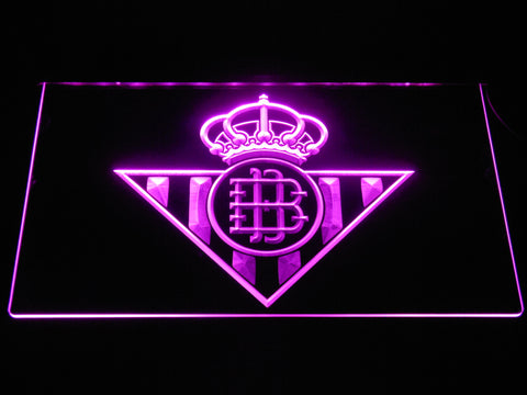Image of Real Betis LED Neon Sign - Purple - SafeSpecial