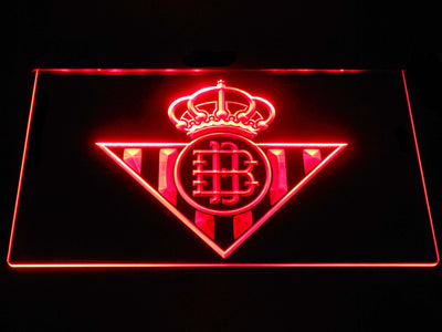 Real Betis LED Neon Sign - Red - SafeSpecial