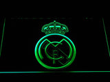Real Madrid CF Crest LED Neon Sign - Green - SafeSpecial