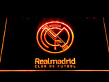 Real Madrid CF Crest LED Neon Sign - Legacy Edition - Orange - SafeSpecial