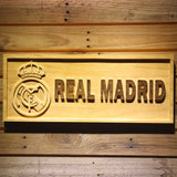 Real Madrid CF Crest Wooden Sign - Small - SafeSpecial