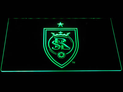 Real Salt Lake LED Neon Sign - Green - SafeSpecial
