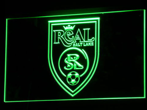 Real Salt Lake LED Neon Sign - Legacy Edition - Green - SafeSpecial